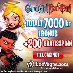 leovegas mobil casino bonus