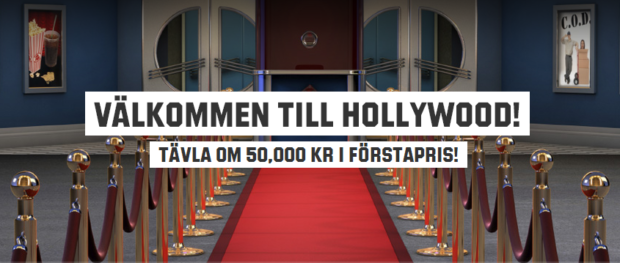 unibet hollywood kampanj