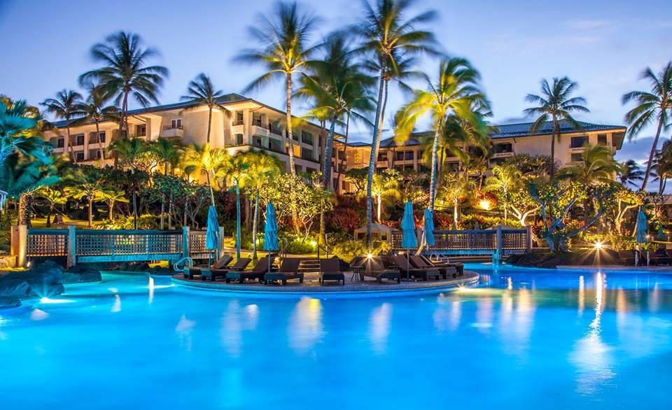 hyatt kauai hotellet i hawaii