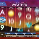 Todays Weather – En ny spelautomat från Genesis Gaming