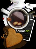 comeon kaffe rast