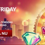 5 nya spel & 10 freespins. Gör dig redo för en helg fylld med casino spänning!