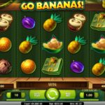 CasinoRoom bjuder nu på 80 freespins på GoBananas + 5000kr i bonus