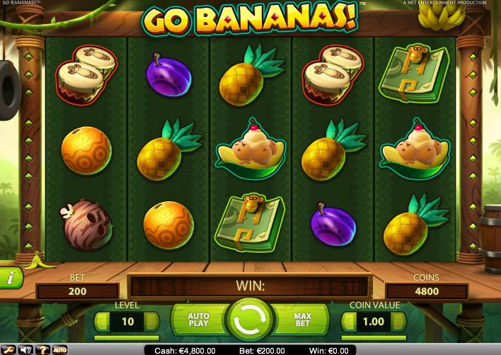go bananas casinoroom freespins