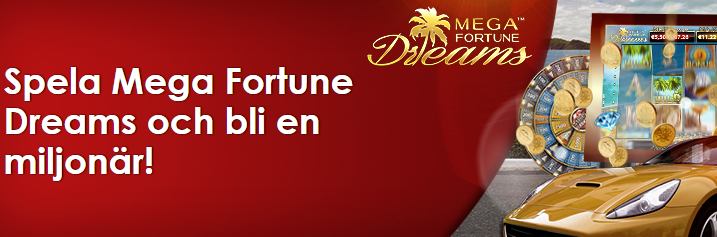 nordicbet freespins på mega fortune dreams