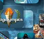 Bli kronad till mästare i världens första Sagalympics!