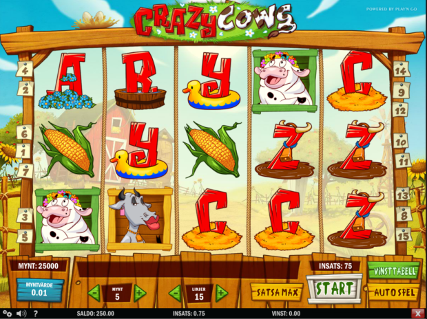 crazy cows slot 3