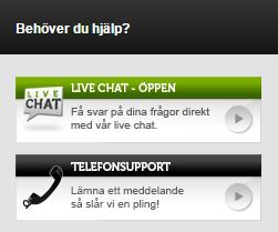 mobilbet live chatt