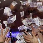 Det regnar pengar utan omsättningskrav i MrGreens casino