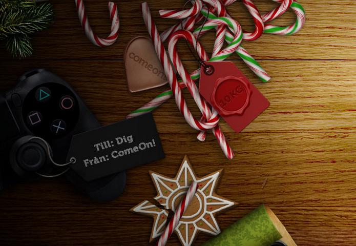 comeon delar ut 100 julklappar