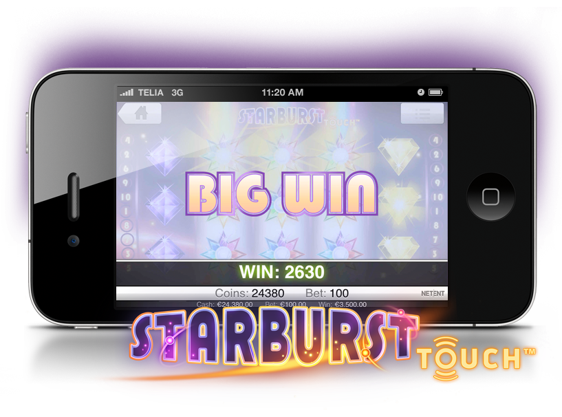 starburst i mobilen