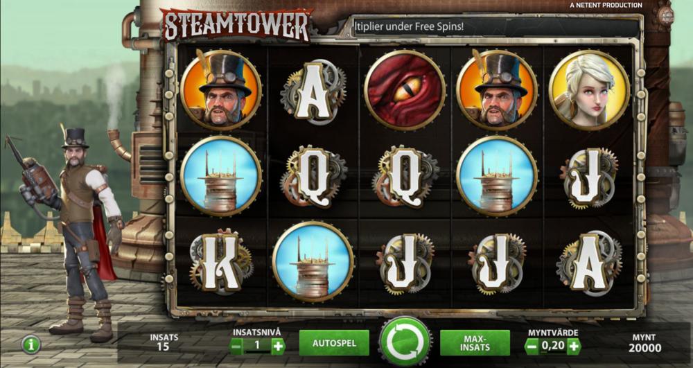 steam tower gratis