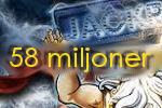 Den allra högsta vinsten som du kan vinna just nu är mer än 58 miljoner kronor