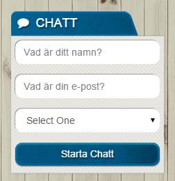 live chatt sveacasino support