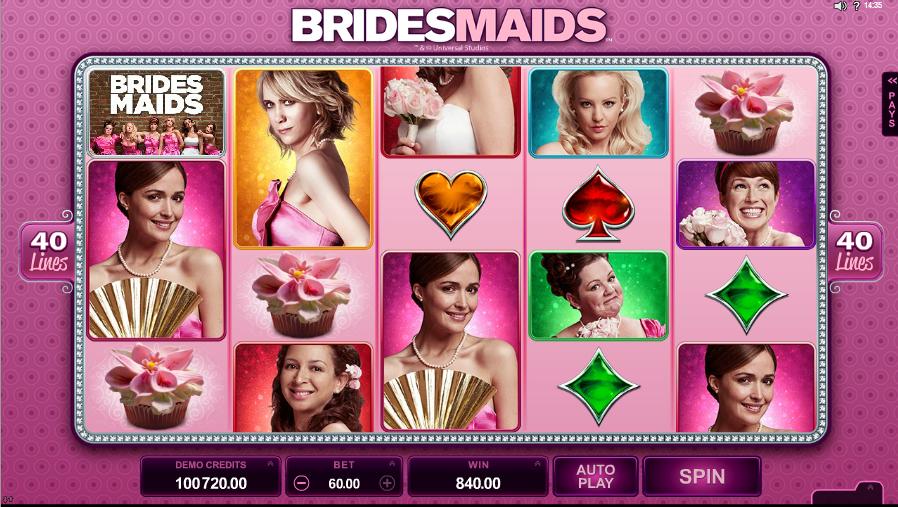 bridesmades slot