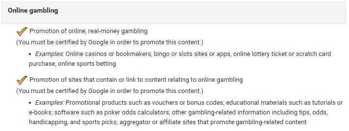 google casino annonser
