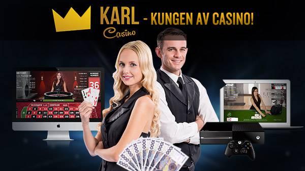 Karls live casino roulette kampanj
