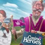 Så får du 10 exklusiva freespins utan insättning på Starburst hos CasinoHeroes!