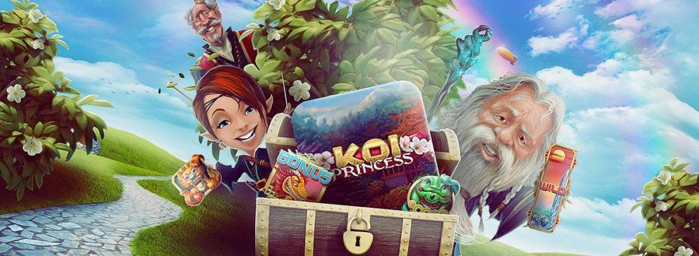 koi princess mystiska gåvor hos casinoheroes