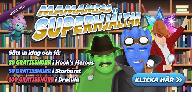 superhjäte freespins