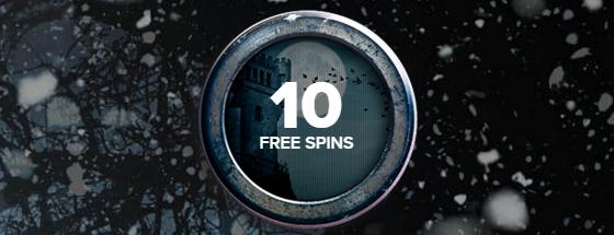 10 freespins hos Kaboo