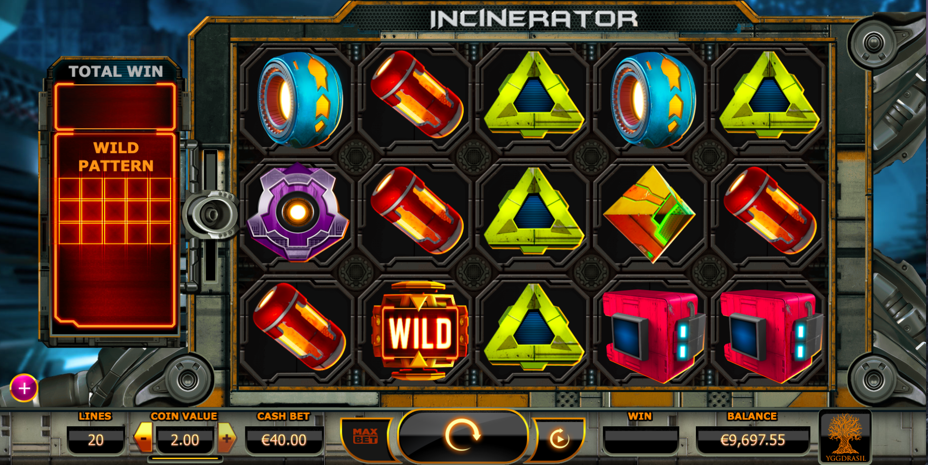 incinerator svenska casino