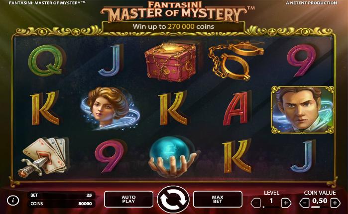 Fantasini: Master of Mystery Automat - Norsk Netent Casino