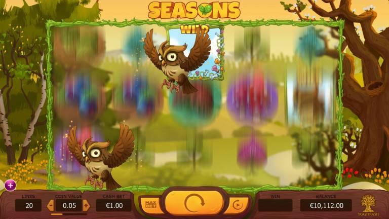 seasons wild bonus