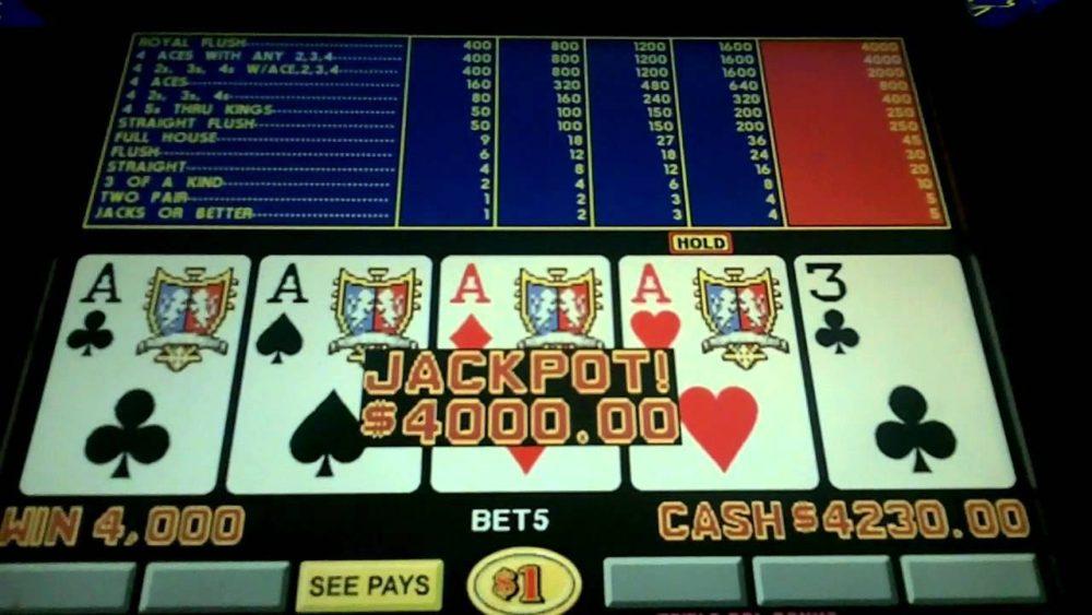 poker-maskin