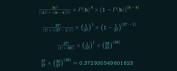 roulette-matematisk-formel