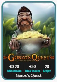 gonzos quest cashmio casino