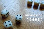 Tärningsspelet 10000 regler - Prova ett tärningsspel med 6 tärningar