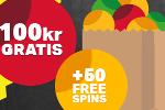 Vad sägs om 100kr helt gratis och ett sprillans nytt online casino?