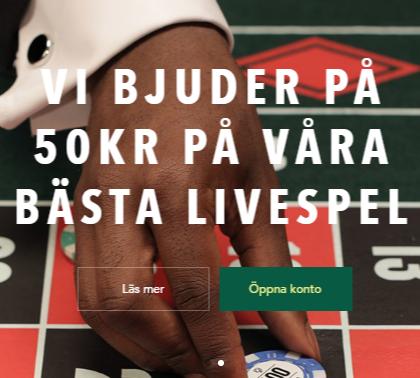 50kr gratis roulette bonus