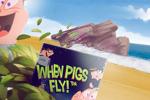 Grisar som flyger, casino hjältar, free spins och ett rymdprogram!