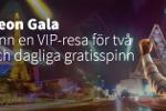 Neon Gala hos Betsson med dagliga freespins, LasVegas resa & 300 000kr
