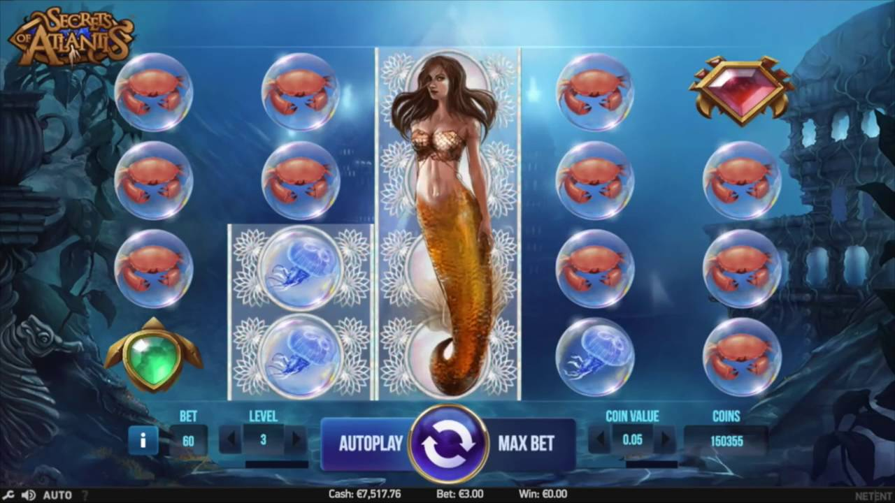 secrets of atlantis casino