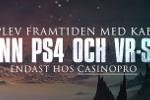 Prova Kaboo via Casinopro & vinn ett exklusivt PS4 paket med VR set