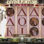 Prova lyckan på Divine Fortun med mer än 200 extra free spins
