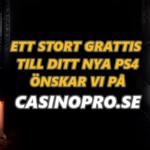 Ett STORT gratis till Jessica från Karlstad som vann ett nytt PS4 i vår tävling