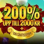 SverigaCasino byter erbjudande till 75 gratis spins och 200% i casino bonus