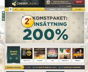 cherry casino insättningsbonus