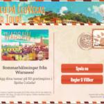 LeoVegas sommarturné bjuder på 1,5 miljoner, exklusiva resor och free spins