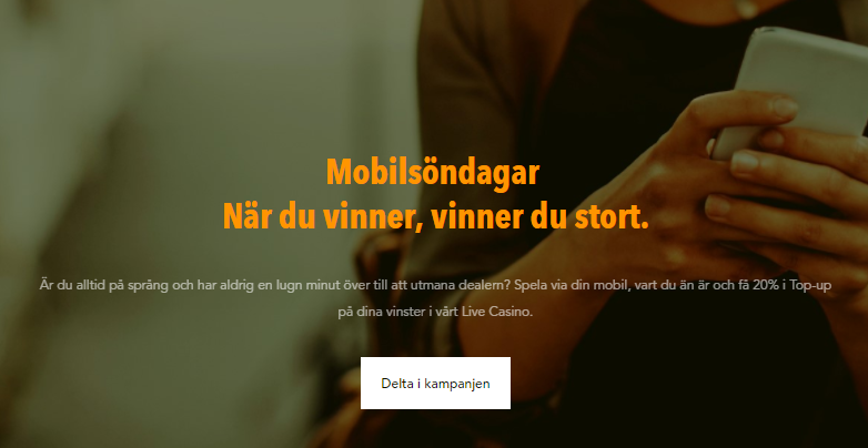 mobilsöndagar hos codeta