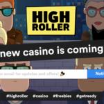 """Highroller – Nytt casino för storspelare """"Årets mest spännande casino nyhet"""""""