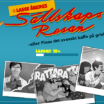 Sällskapsresan – Exklusiv spelautomat med Lasse Åberg i Paf`s online casino