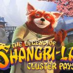 Prova NetEnt`s nya spel The Legend of Shangri-La: Cluster pays, gratis här!