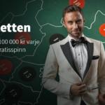Betsson casino förvandlar hela Sverige till ett stort roulettebord och delar ut 100.000kr varje vecka