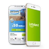 lottoland i mobilen