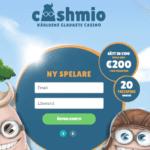 Logga in hos Cashmio så är du automatiskt med i utlottning där du har chans att vinna 5.000kr